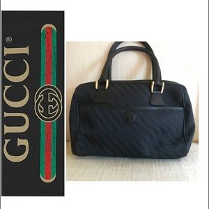 c732b5bf08b Authentic Vintage Gucci Black Speedy Doctor Bag